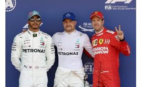 Csak a szokásos: a Mercedes megint elverte a Ferrarit