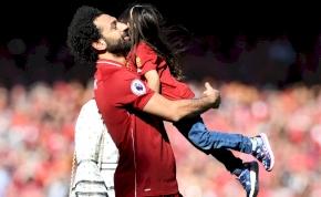 Mo Szalah lánya véghezvitte angol földön, amire Messi sem volt képes
