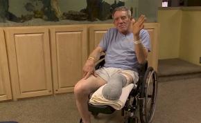 Zsebkéssel vágta le a lábát a farmer, hogy megmentse saját életét