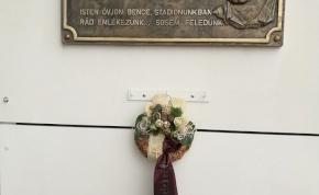 Rakaczki Bence emléktáblája már az új diósgyőri stadionban van