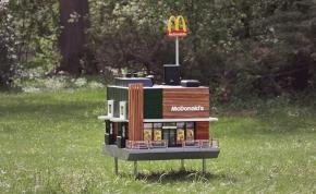 McDonald's nyílt méheknek