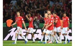 Gulácsiék szomorkodhatnak, a Bayern nyerte a Német kupát
