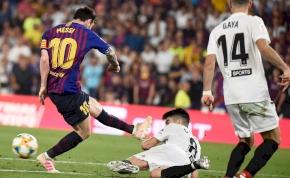 Messi sem segített, Copa del Rey-győztes a Valencia