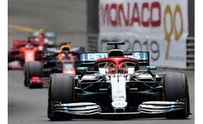 Hamilton megmentette a 2019-es Monacói Nagydíjat