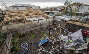 """""""Gigantesco tornado"""": soha nem látott szélvihar Chilében – videó"""