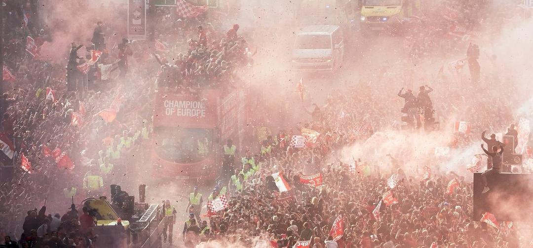 750 ezer ember ünnepelte Liverpoolban a BL-győzelmet – videó