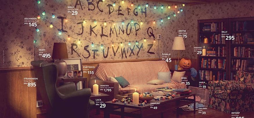 A Jóbarátok és több világhírű sorozat nappaliját alkotta újra az IKEA