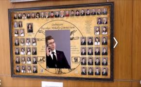 Egy debreceni diák Harry Potter-es interaktív tablót fejlesztett