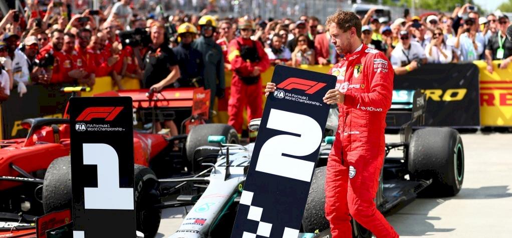 Vettel ért elsőként célba, mégis Hamilton nyert Kanadában