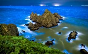 Csábító veszély: méregkék lesz nyáron a tajvani tenger – videó