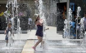 Rekord: 1901 óta nem volt ennyire meleg júniusban Magyarországon