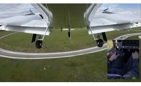 Leszállás pilóta és ILS nélkül? Ilyen nincs, és mégis van – videó