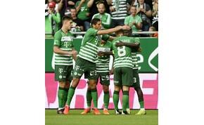 Bajnokok Ligája: gólt kapott, de előnnyel utazik Bulgáriába a Ferencváros