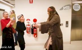 A nap, amikor Jack Sparrow besétált a gyerekkórházba