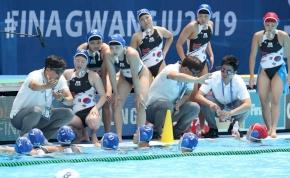 Elégedett a koreai kapitány a 64 gólos vereséggel a vizes-vb-n
