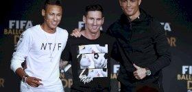 Őrült Insta-fotók készültek Neymarról, Messiről, Ronaldóról öregen