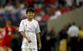 Bohócot csinál a Real Madridból egy tinédzser japán – videó