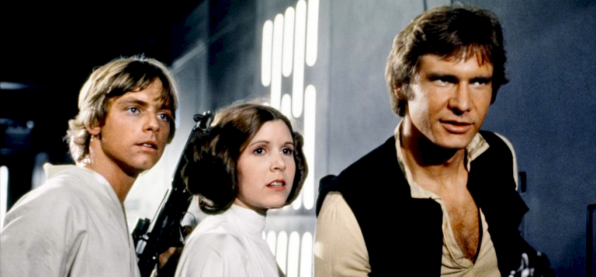 Videón mutatjuk Harrison Ford és Mark Hamill első Star Wars próbáját