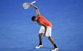 Kyrgios megint elszabadult a teniszpályán