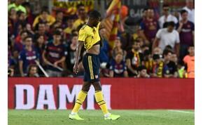 Komikus öngóllal szívatta magát az Arsenal a Barca ellen