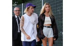 Hailey Baldwin, Justin Bieber felesége hatalmasat villantott