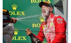 Sebastian Vettel felszedette a szemetet a tévésekkel a Hungaroringen