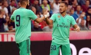 Szoboszlaiéknak rúgta első realos gólját Eden Hazard – videó