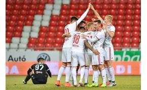 A Debrecen egyetlen lejátszott meccsel is harmadik az NB I-ben