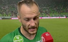 """""""Szégyellem magam a csapat nevében is"""" – mondta 0-4 után a Fradi játékosa"""