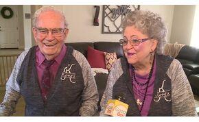68 éve házasok, az első randijuk óta összeöltöznek