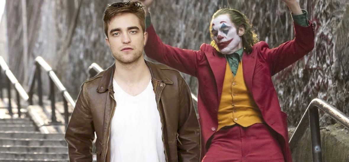 Robert Pattinsonnal az új Batman-szerepre.
