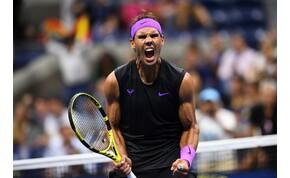 Nadal a Schwartzman meccs után is villant egyet