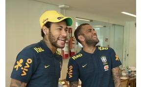 """Dani Alvest Neymar mentette meg egy """"vadállattól"""" – videó"""