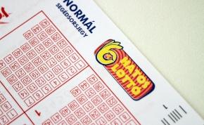 Hatos lottó: négy páros és két páratlan számot húztak ki
