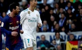 Messi és Ronaldo közös vacsorajelenetét ételből alkotta meg egy művész
