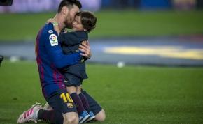 Messi fia elbűvölő, úgy ünnepli gólját, ahogyan édesapja – videó