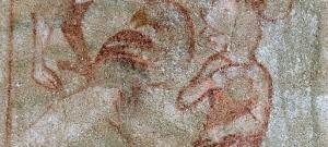 Egy 700 éves templom freskóján egyszer csak feltűnt Miki egér