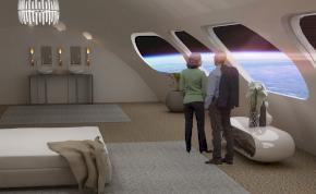 2027-ben már az űrhotelben pihenhetünk