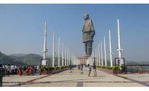 """Az """"Indiai Vasember"""" brutális méreteivel a világ legmagasabb szobra"""