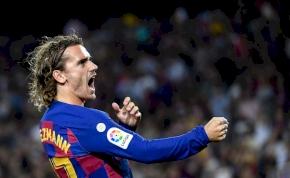Büntetést kapott a Barcelona Antoine Griezmann miatt