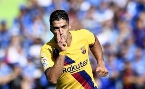 Luis Suárezék tettek róla, hogy egy kicsit kisimuljon a Barca-edző arca – videó