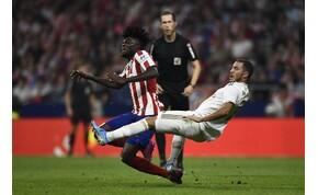Az Atlético kapusa borsot tört a Real Madrid orra alá – videó