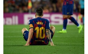 Lionel Messi lehet, hogy játszhat az Inter ellen a BL-ben