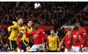 Bűnrossz félidőt játszott a Manchester United és az Arsenal – videó
