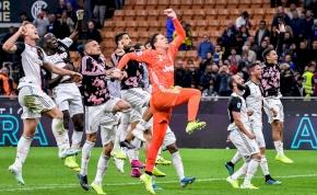Élmény nézni a Juventus győztes gólját az Inter ellen – videó