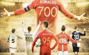 Ronaldo megszerezte 700. gólját, csatlakozott Puskásékhoz
