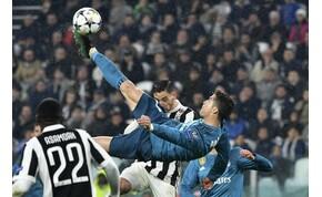 Buffon elmesélte, hogyan élte meg Ronaldo ollózós gólját