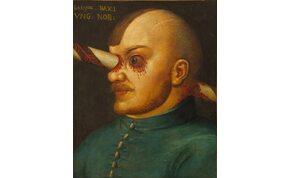 Átszúrt fejű magyar nemest ábrázol az egyik leghíresebb középkori horrorfestmény