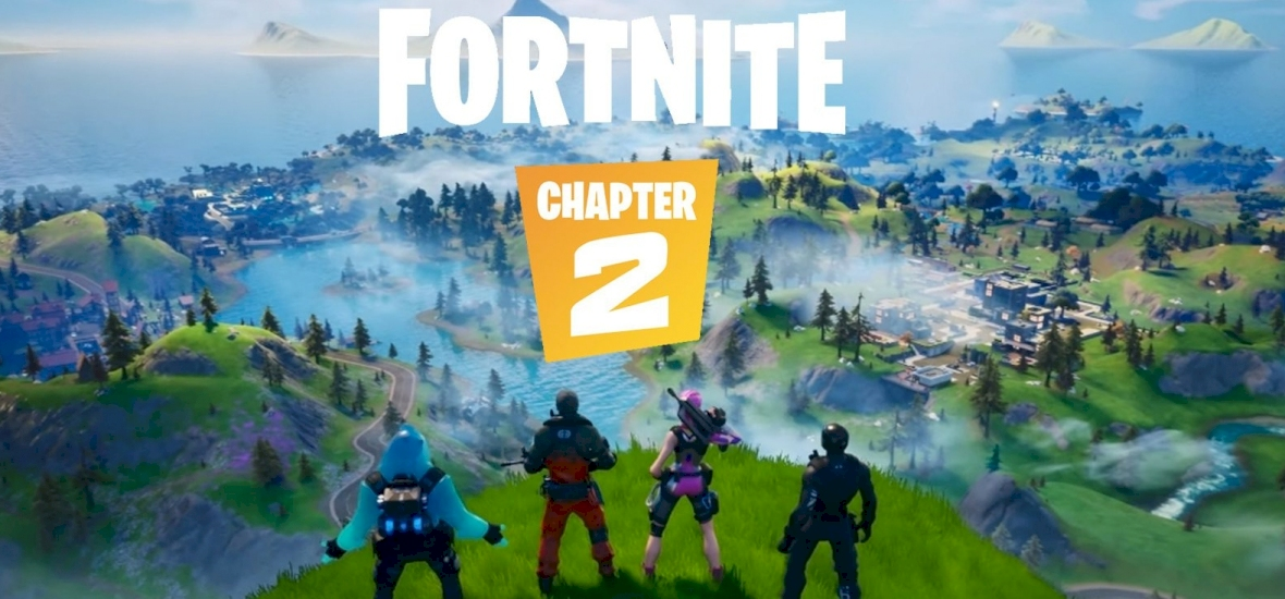 Visszatért a Fortnite a Chapter 2-val