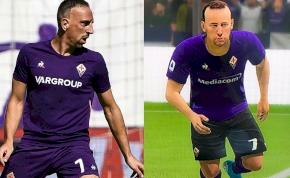 Ribery nem boldog attól, ahogy a FIFA-ban kinéz